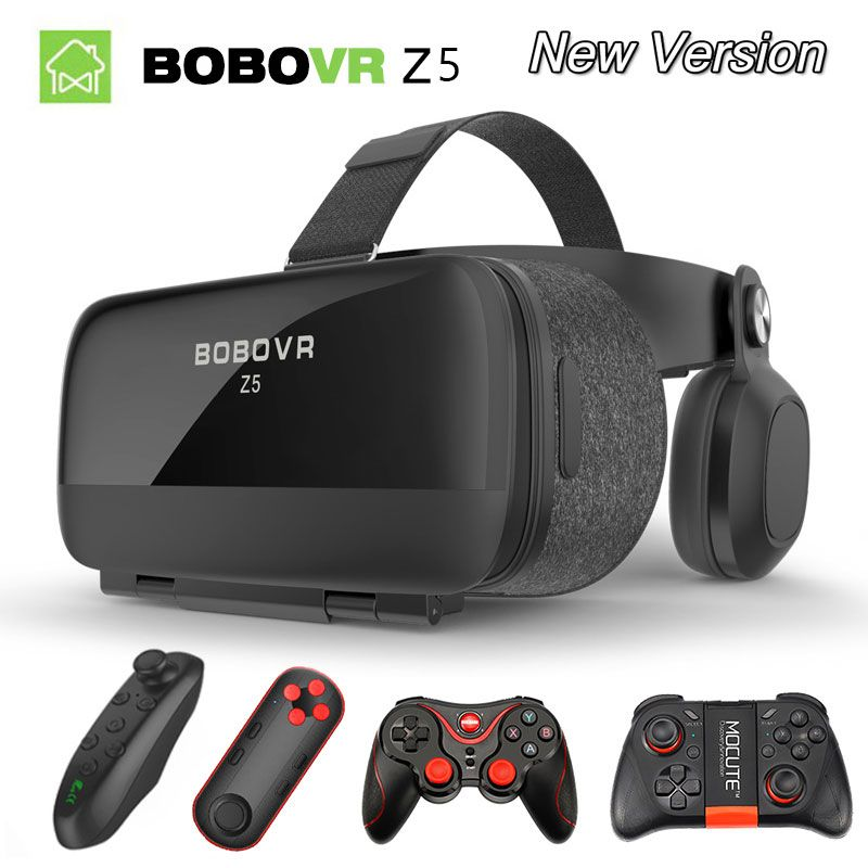 ea8c4b8f2a7 VR BOX BOBOVR Z5 VR Glasses Virtual Reality goggles 3D glasses google  Cardboard 2.0 bobo vr