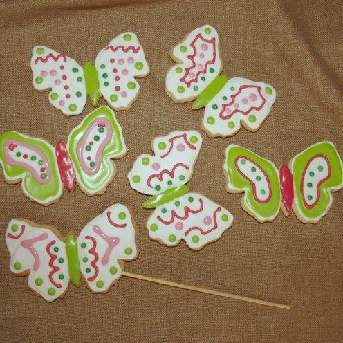 Galletas decoradas mariposas