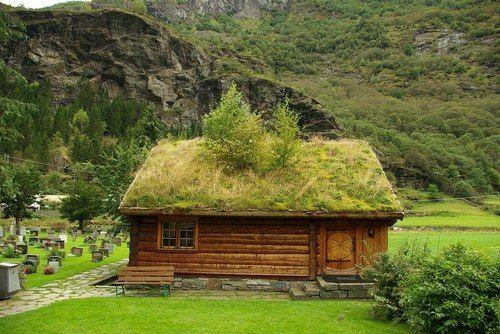 Grass Roof Norway Avec Images Toit Vegetalise Habitat Paysages Du Monde
