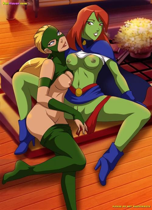 Consider, that Miss martian and artemis porn