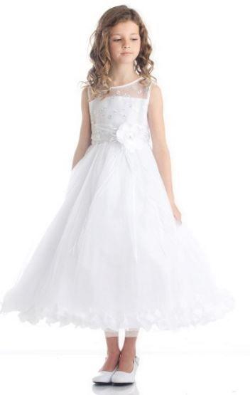 Madeline Petal Dress - White