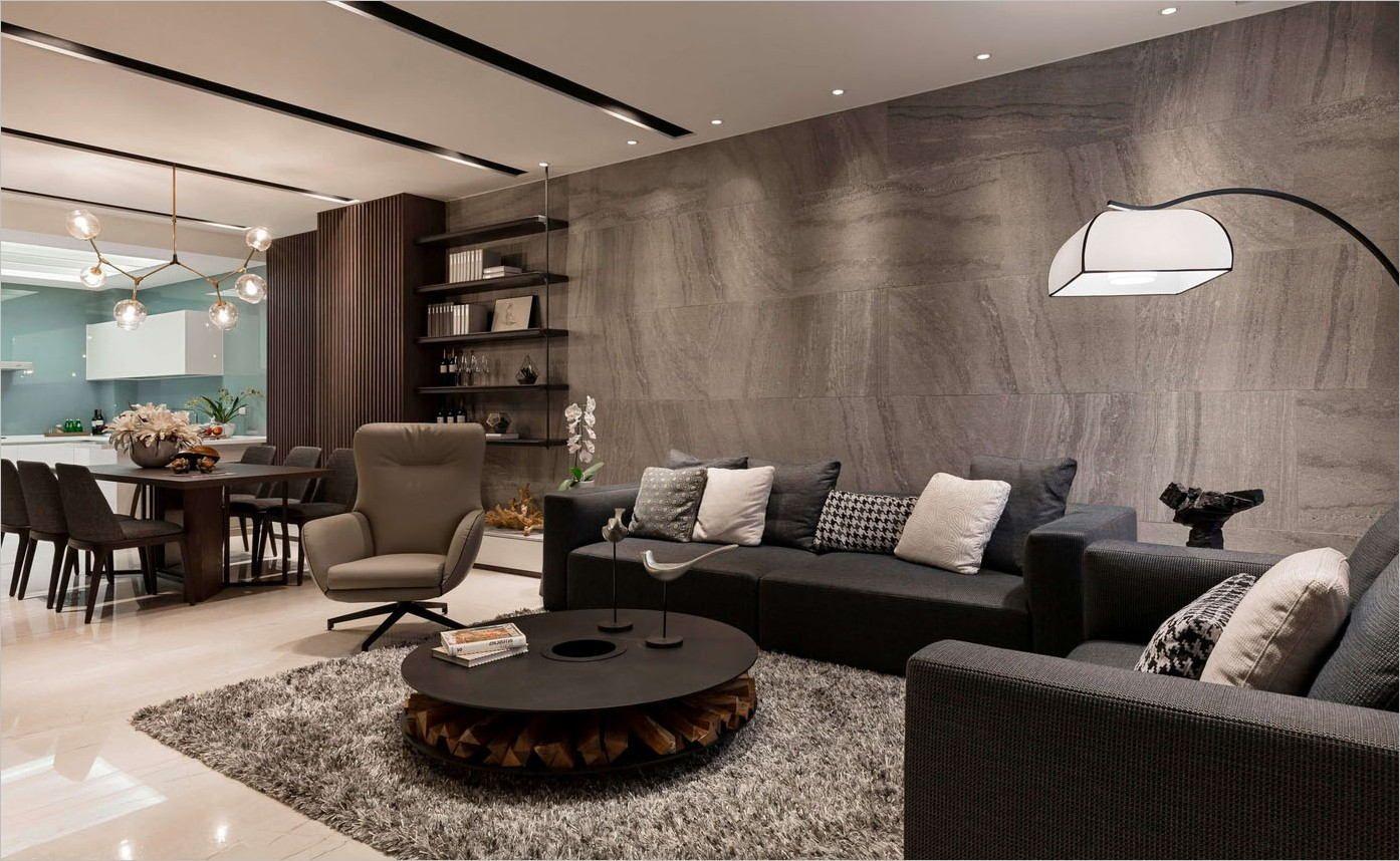 Deavita Deco Salon Moderne Design | Déco salon, Maisons contemporaines, Décoration salon ...