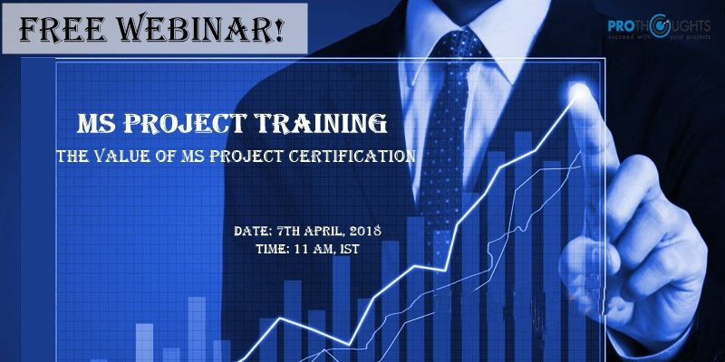 Maximise The Value Of Ms Project Training Certification With Your