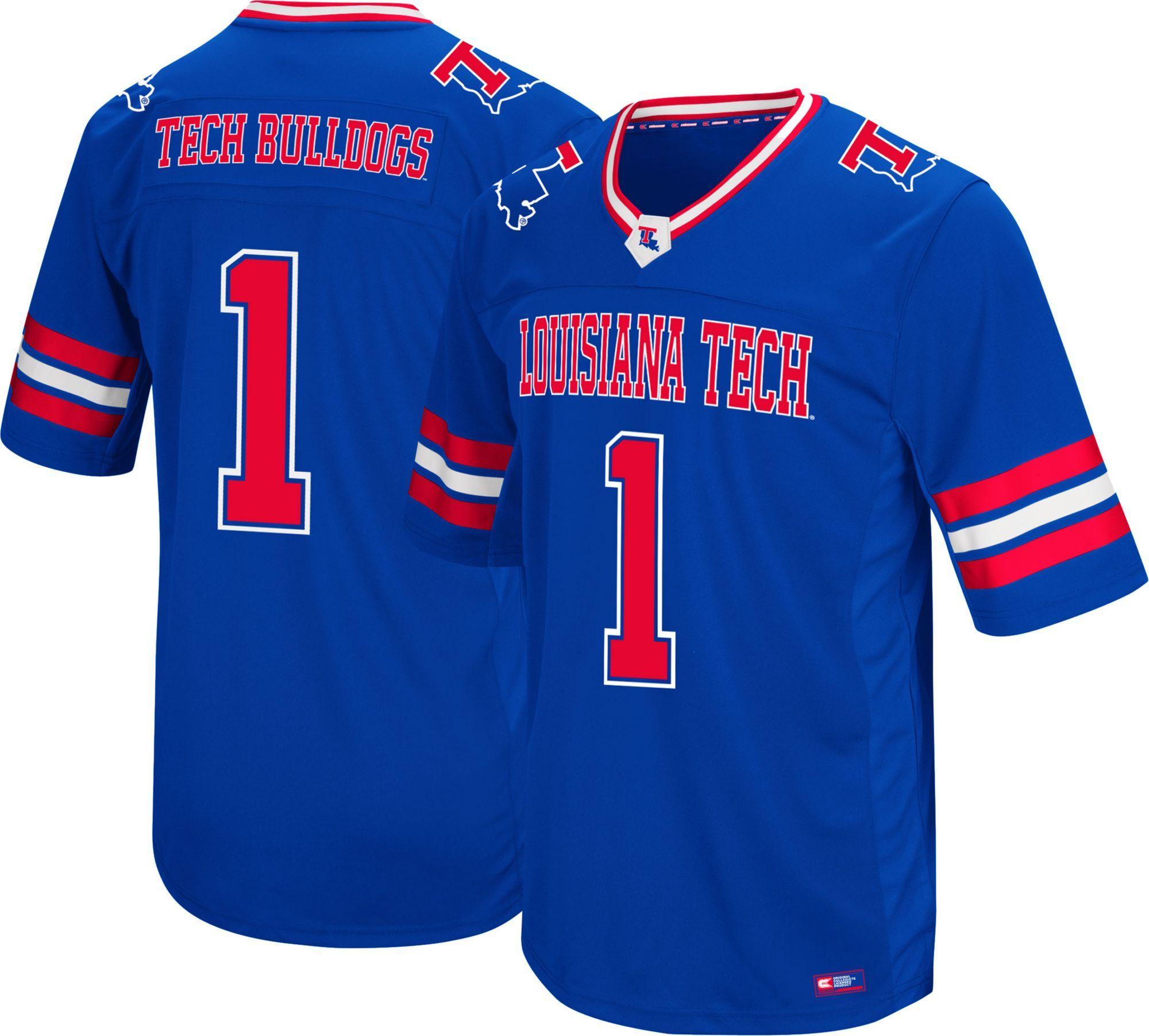 Colosseum Men's Louisiana Tech Bulldogs 1 Blue Hail Mary