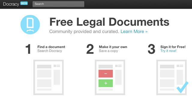 court documents templates