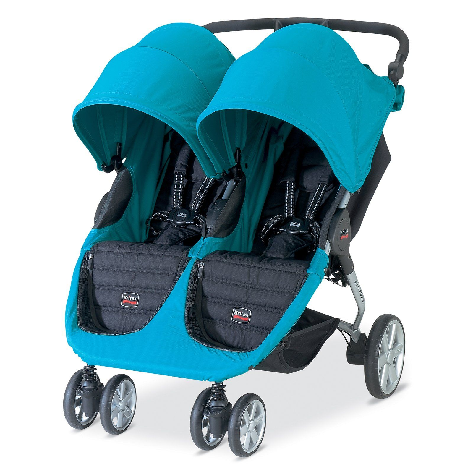 Have to have it. Britax BAgile Double Stroller Peacock