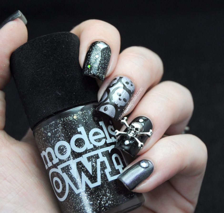 dark, vampy nails! | Eeeek! Nail Polish! | Fun for All Nails ...