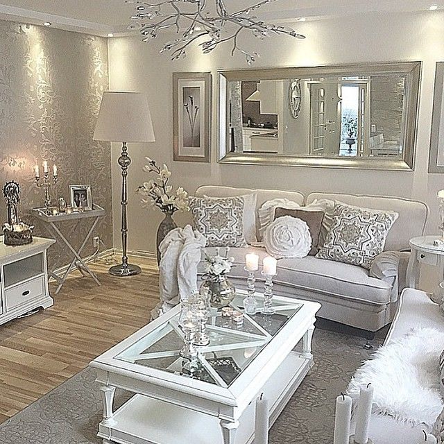 Grey Glam Living Room Ideas: Pin By Teresa Baxter On My Wee Home Ideas