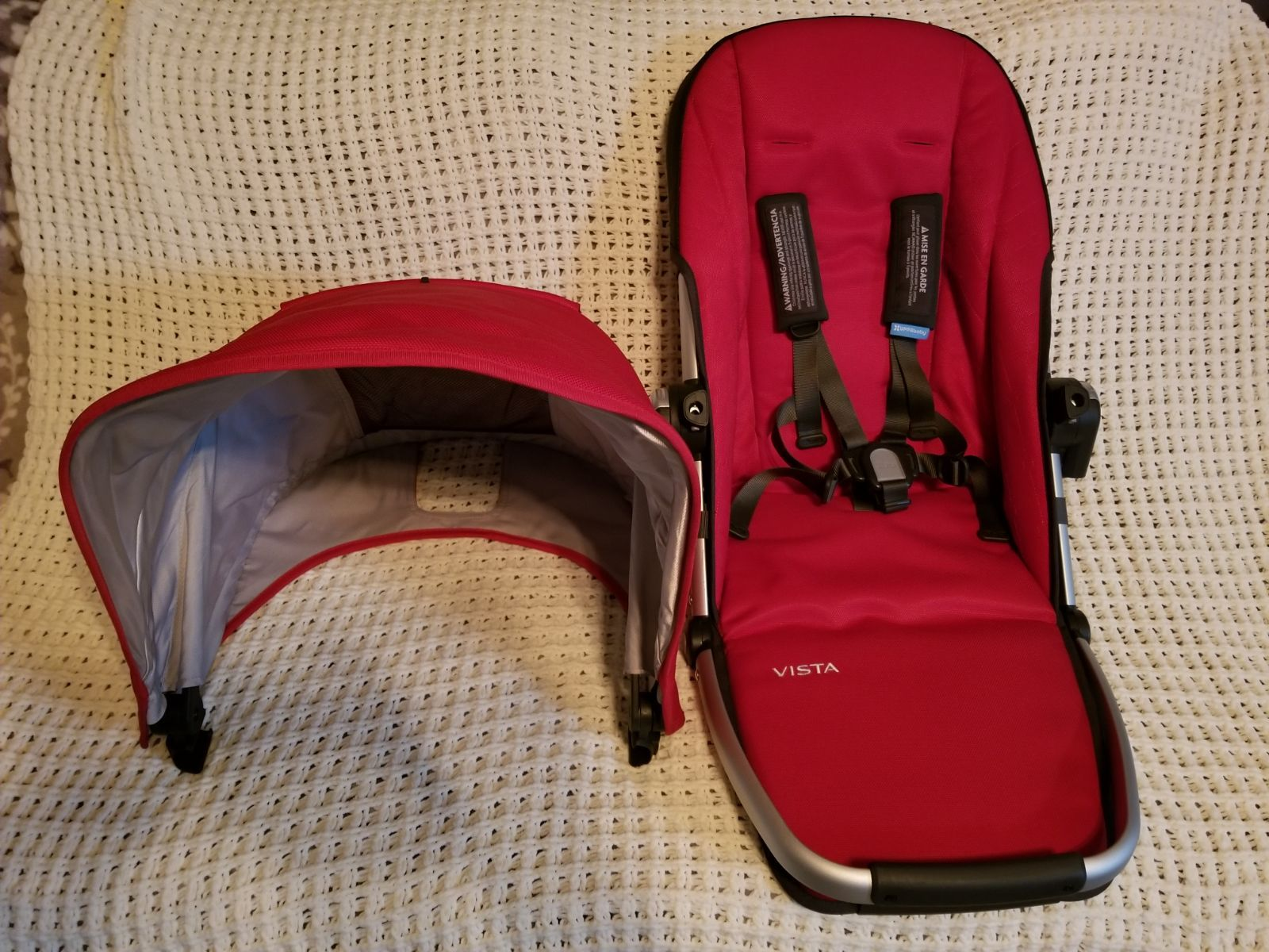 Uppababy Vista toddler replacement seat Denny for 2015 and
