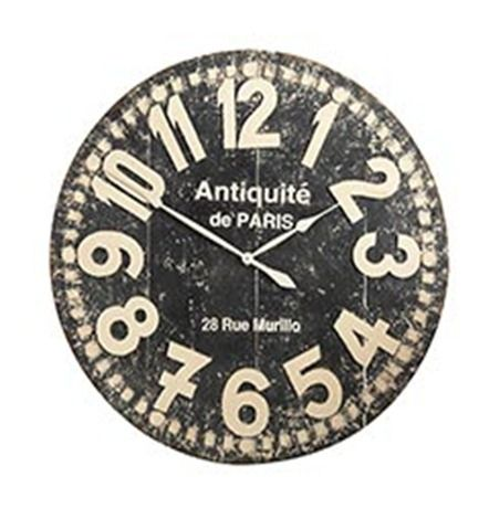 Distressed Wall Clock Knockoffdecor Com Distressed Wall Clock Wall Clock Clock
