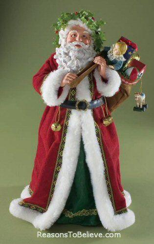 Santa Tree Toppers
