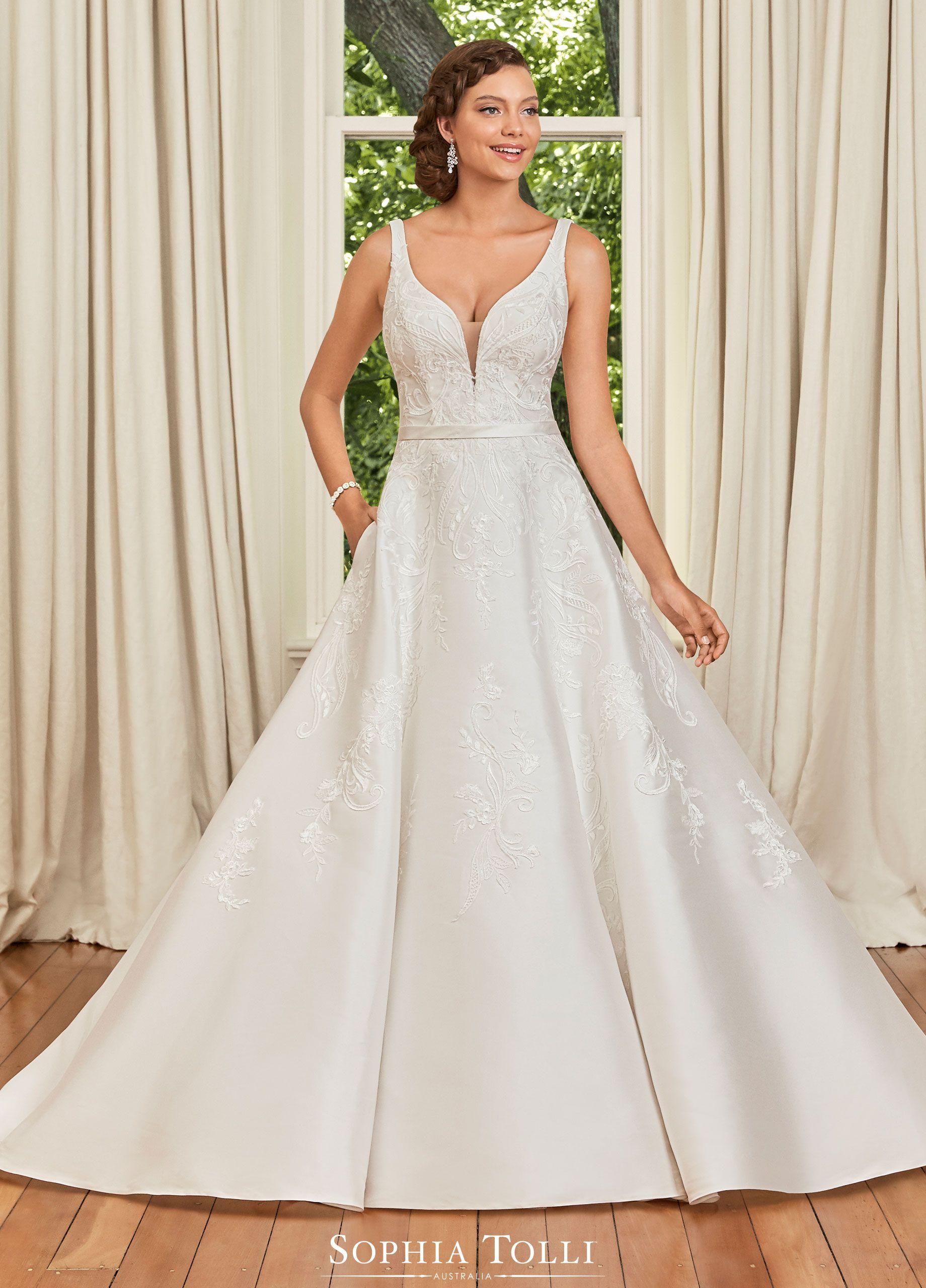 Sophia Tolli Wedding Gowns Y21970a Natalie Wedding Dresses