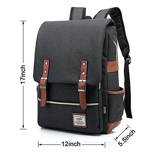 c9ace82ed8d0 Amazon.com  Unisex Professional Slim Business Laptop Backpack ...