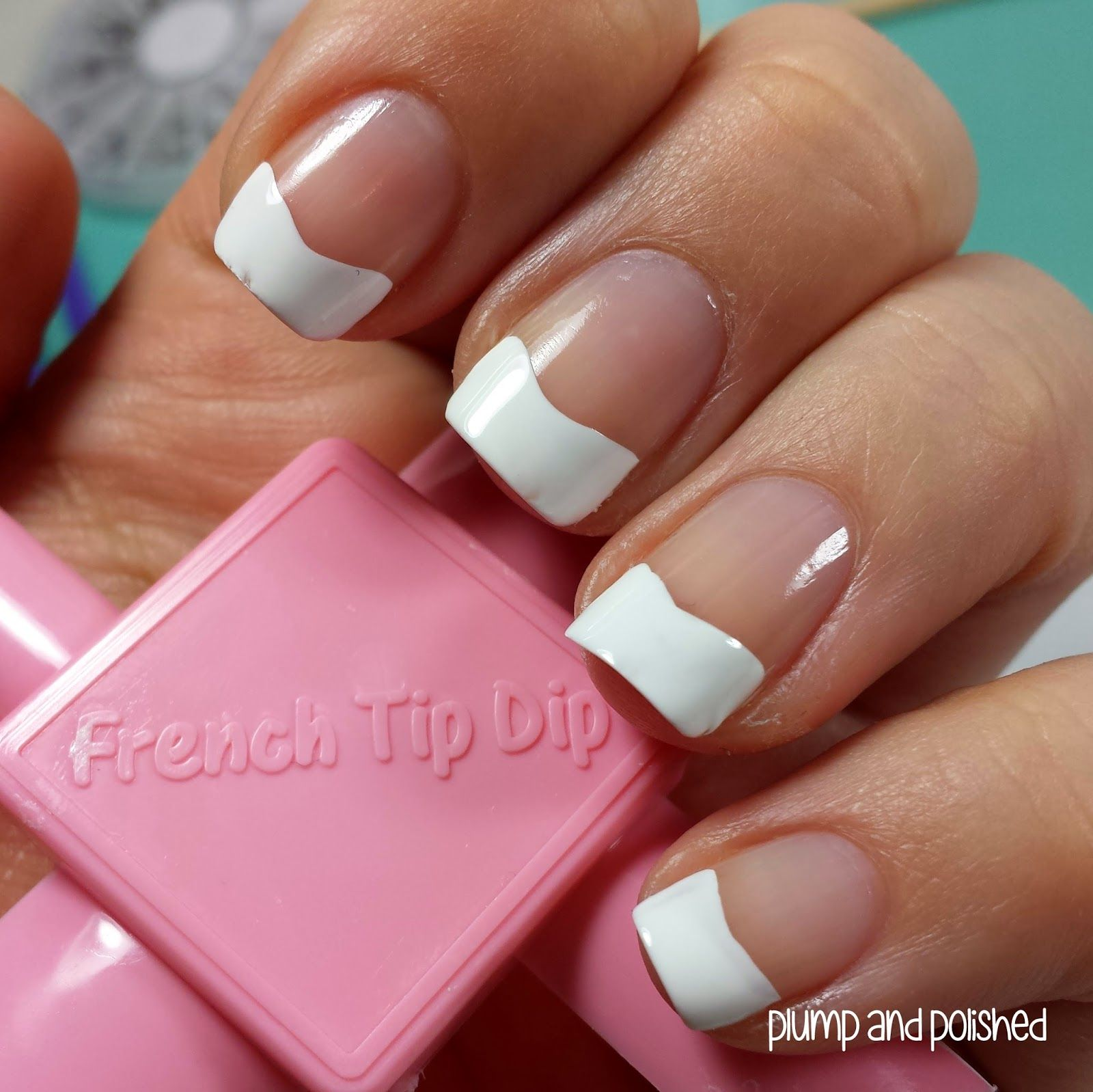 Plump and Polished: ShopLately - French Tip Dip Nail Art   They ...
