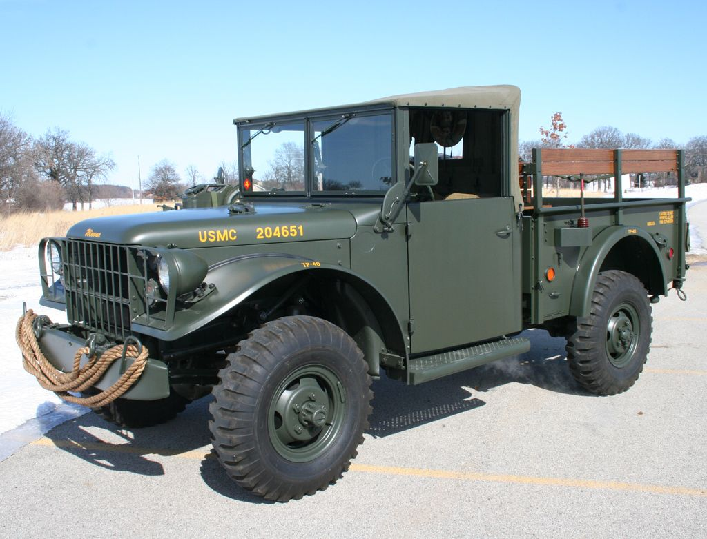 M37. 1951-1968. | DODGEs | Pinterest | Dodge trucks, 4x4 and Jeeps