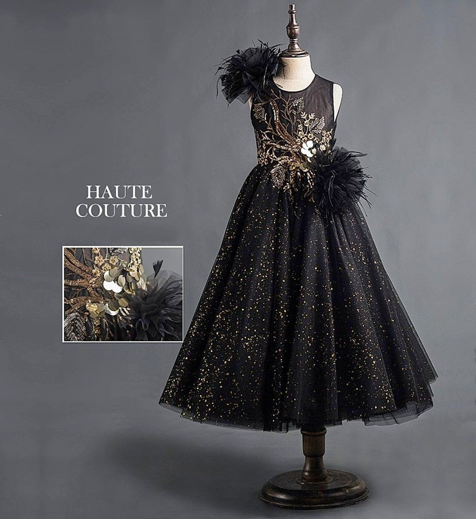 17472951 Big Floral Sequin Gown-Made To Order - High Quality Elegant & Beautiful  Sparkle Floral