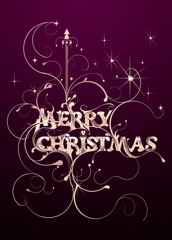33 Best Christmas Greeting Card Designs For Your Inspiration With