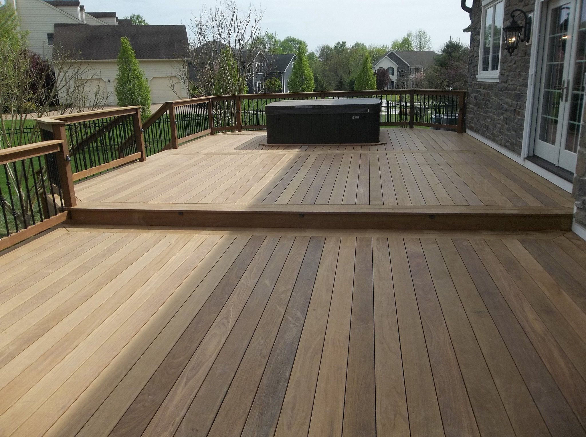 The Guys At Decks R Us Specialize In Building Decks Made Out Of