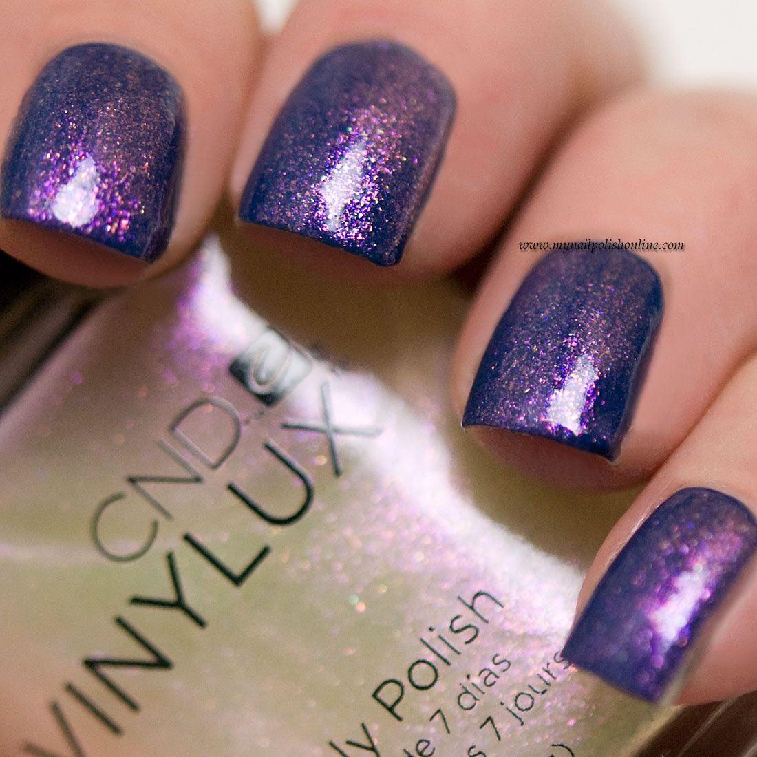Glitter Nails Cnd Vinylux Ice Bar Http Www Mynailpolishonline