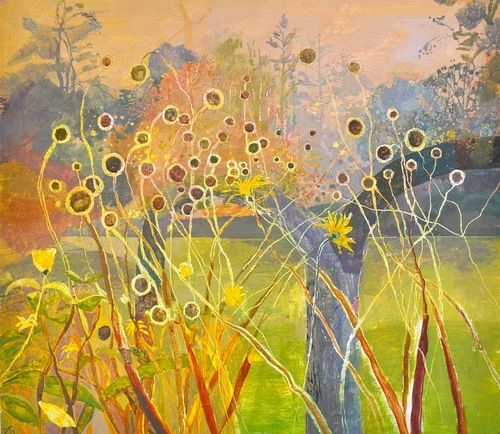 Ruth Sage-Autumn seed heads