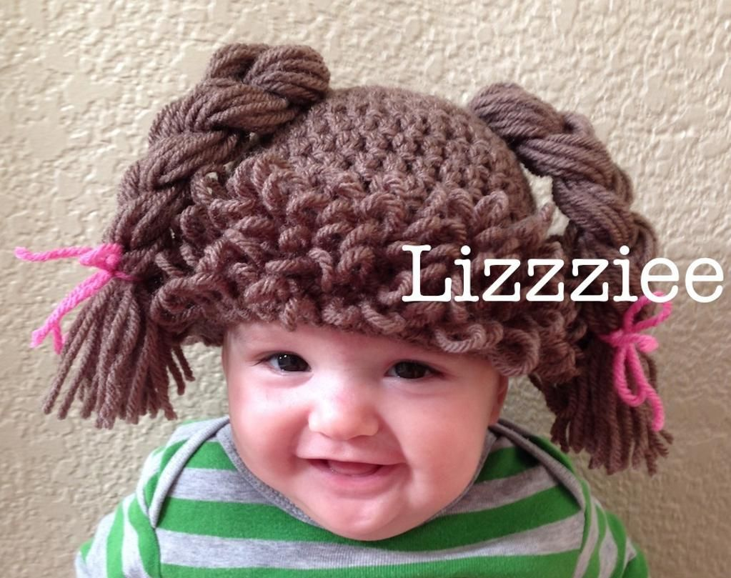 Doll hair wig crochet hat by lizzziee doll hair crochet and dolls doll hair wig crochet hat by lizzziee pattern on craftsy dt1010fo
