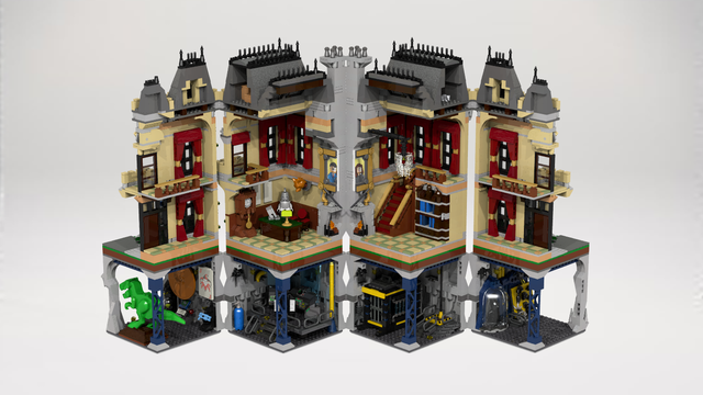 lego Assault on Wayne Manor | LEGO Creations | Pinterest | Lego ...