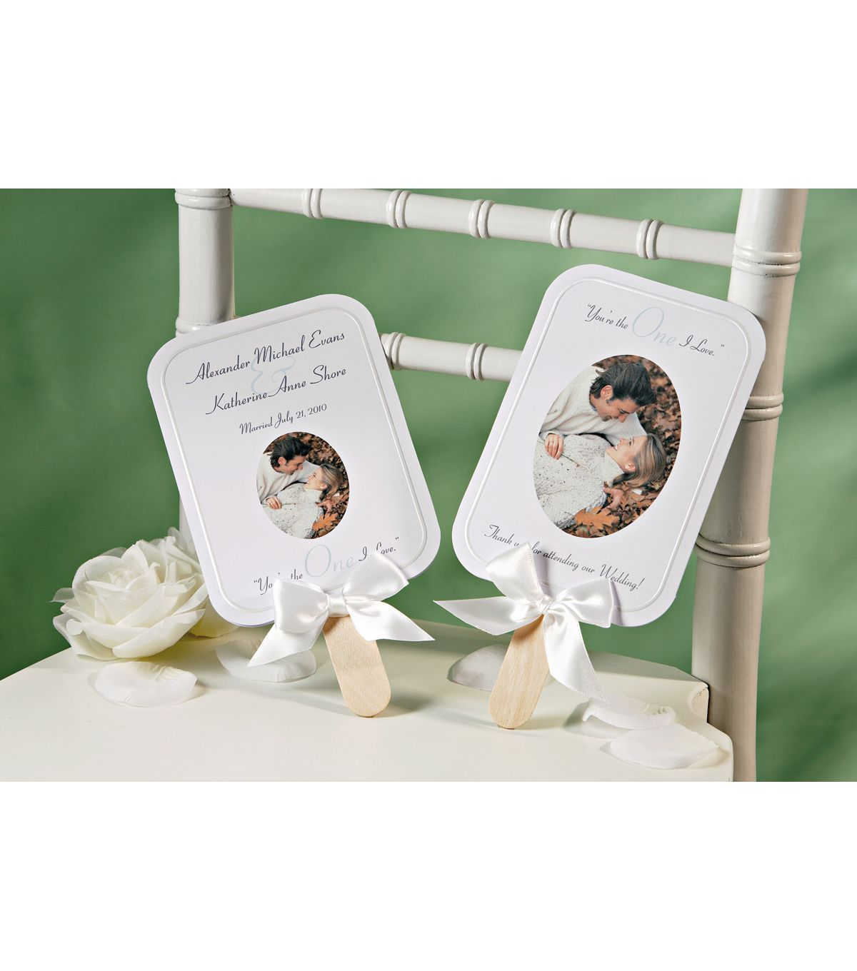 Make Your Own Wedding Favor Ideas: Wilton 24pk Print Your Own Fan Kit