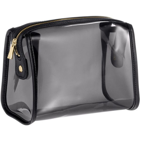 84046fa27210 H M Transparent make-up bag (40 SAR) ❤ liked on Polyvore featuring beauty  products