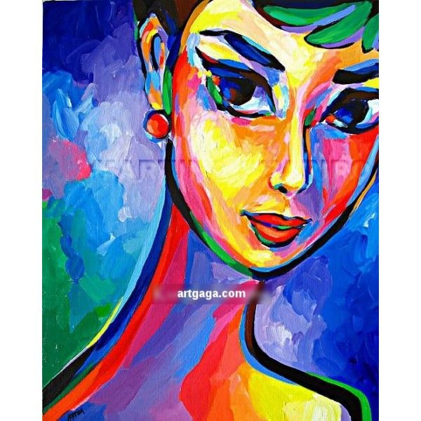 Abstract Painting Of Woman Background 1 Hd Wallpapers Lzamgs