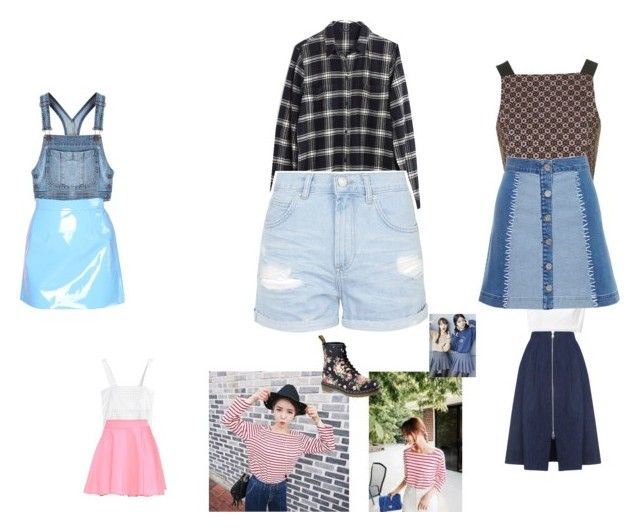 """""""Untitled #1198"""" by natalia-bravo-echevarria ❤ liked on Polyvore featuring Moschino, Topshop, 3.1 Phillip Lim, Rebecca Taylor, QNIGIRLS, Cherrykoko, Madewell, Dr. Martens, Whistles and House of Holland"""