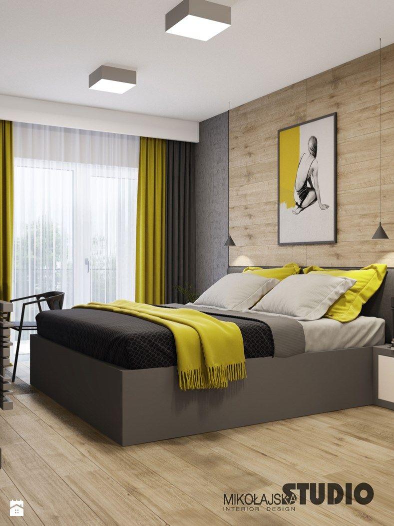 Sypialnia W Stylu Skandynawskim Zdjecie Od Mikolajskastudio