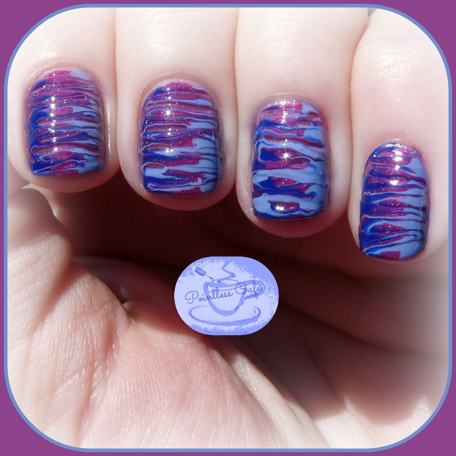 Simple Nail Art Using Toothpick: The Digit-al Dozen Does Texture