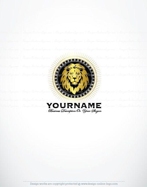Exclusive design lion gold stamp logo compatible free business card exclusive design lion gold stamp logo compatible free business card reheart Gallery