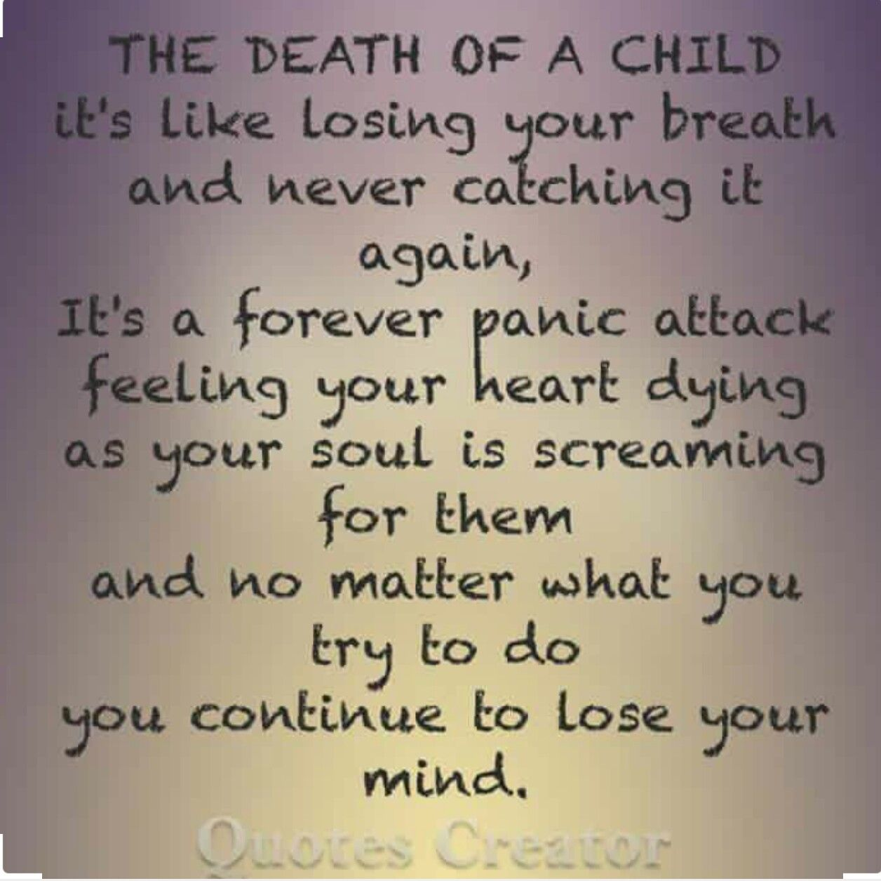 Quotes About Losing A Child Death Of A Child At Any Agemissing My Son…  Pinteres…