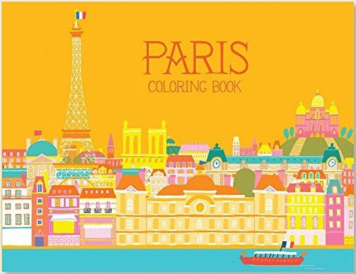 Paris Coloring Book By Min Heo Amazon Dp 1623260485