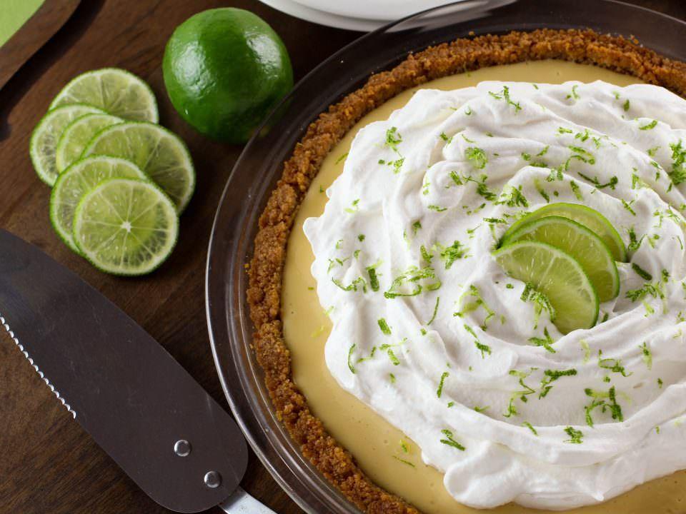 Key Lime Pie - Crisp graham cracker crust with a sweet ...