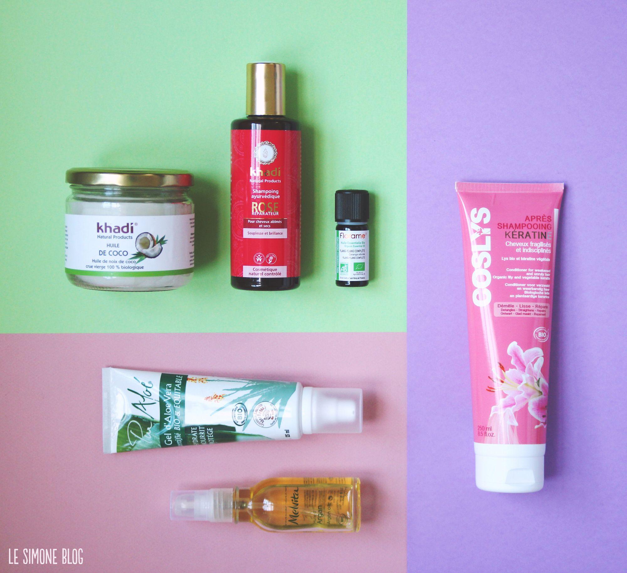 Traitement naturel cheveux secs et cassants
