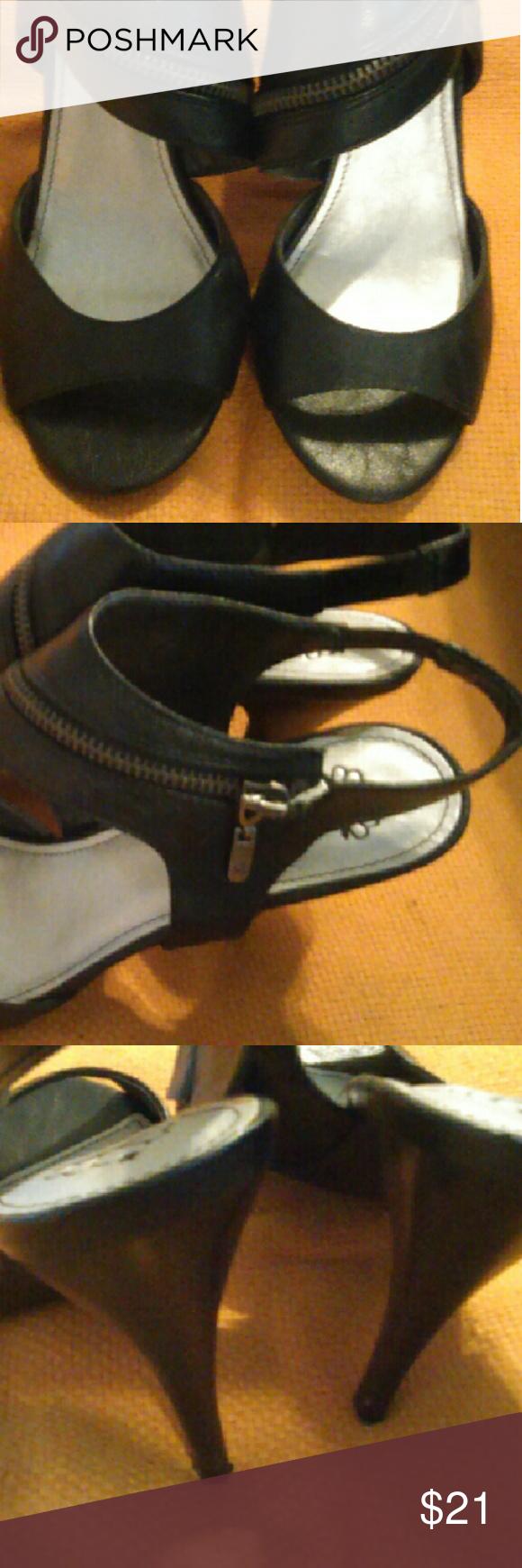 High heels Zippered heels Fergalicious Shoes Heels