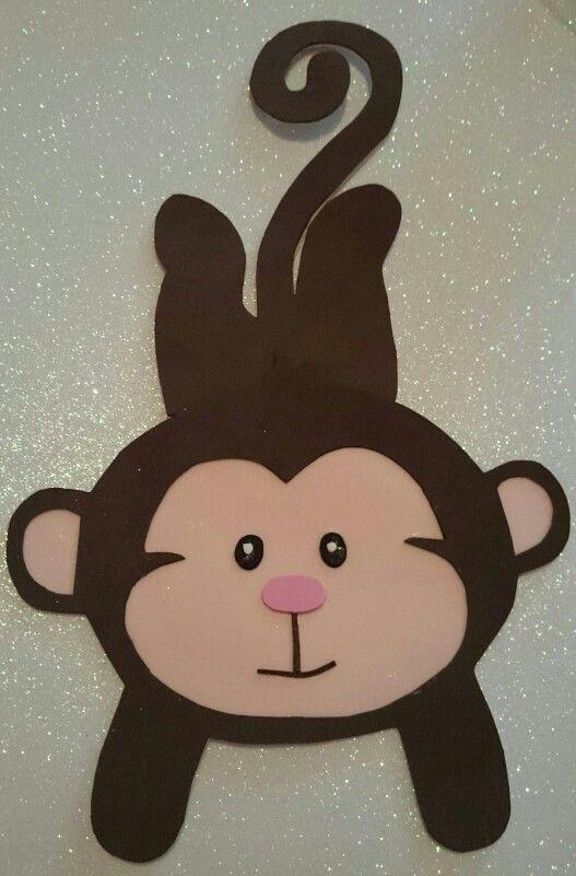 Mono Colgado De Goma Eva 2 Fomie Moños De Goma Eva Animales De