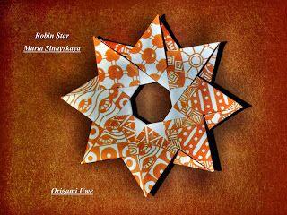 Origami Robin Star (Maria Sinayskaya) - YouTube | 240x320