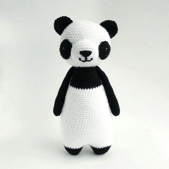 Crochet Amigurumi Pattern Panda Nederlands Acryl En Engels