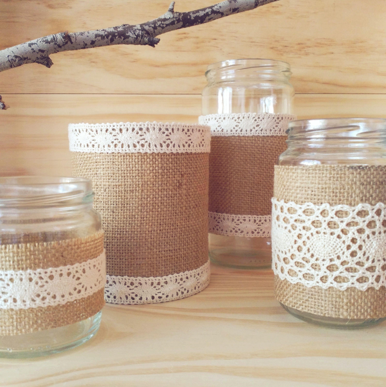 Resultado de imagen para latas decoradas para macetas - Diy frascos decorados ...