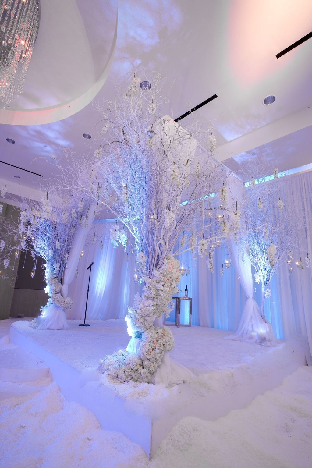 Pin By Christina Ricks On Winter Wonderland Theme Winter Wonderland Wedding Theme Wedding Themes Winter Winter Wedding Decorations