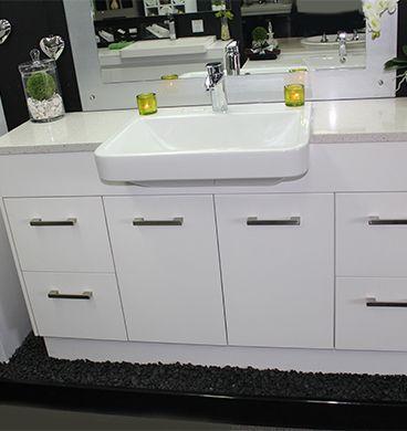 Custom Vanity Unit 1500mm With Semi Recessed Basin Vanity