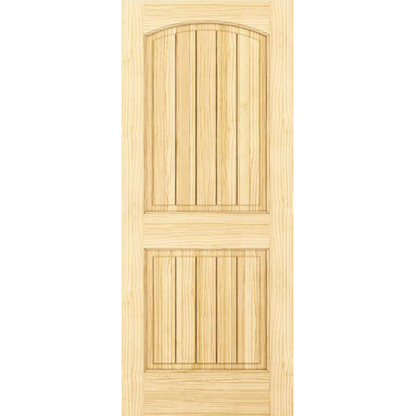 Solid Wood Core Interior Door 1 3 8 In Thick Double Hip Panels Suitable For Staining Or Painting Doors Pine Interior Doors Doors Interior Wood Doors Interior