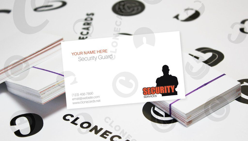 Be A Security Guard Security guard, Place card holders
