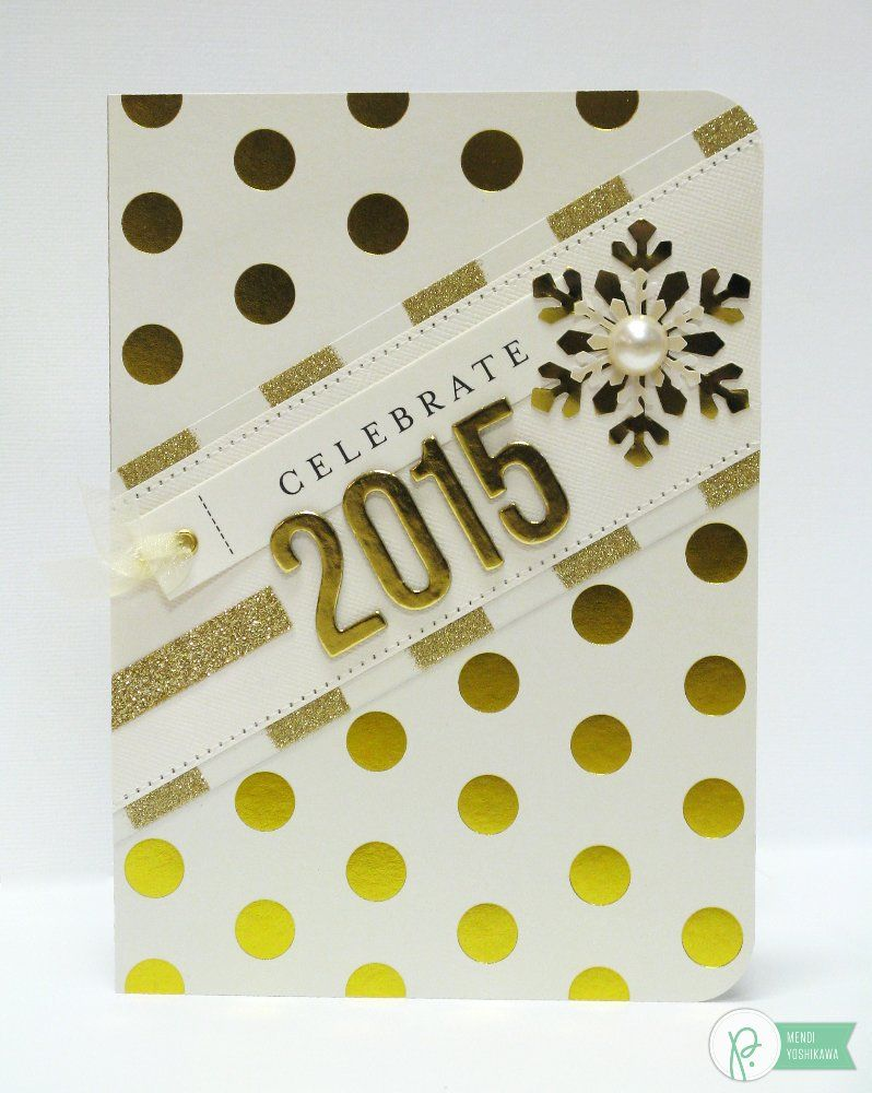 Snippets By Mendi - «Elegant idea for New Year\'s cards» | Scrappy ...