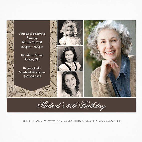 Ähnliche Artikel wie Erwachsenen Foto Geburtstagseinladungen | Individuelles Design | Professionell gedruckt Karton | Mann Frau Briefpapier am besten einzigartige moderne Jahrestag auf Etsy