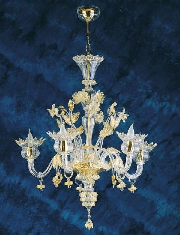 Camandoli Muranodirect Venice Murano Glass Chandelier