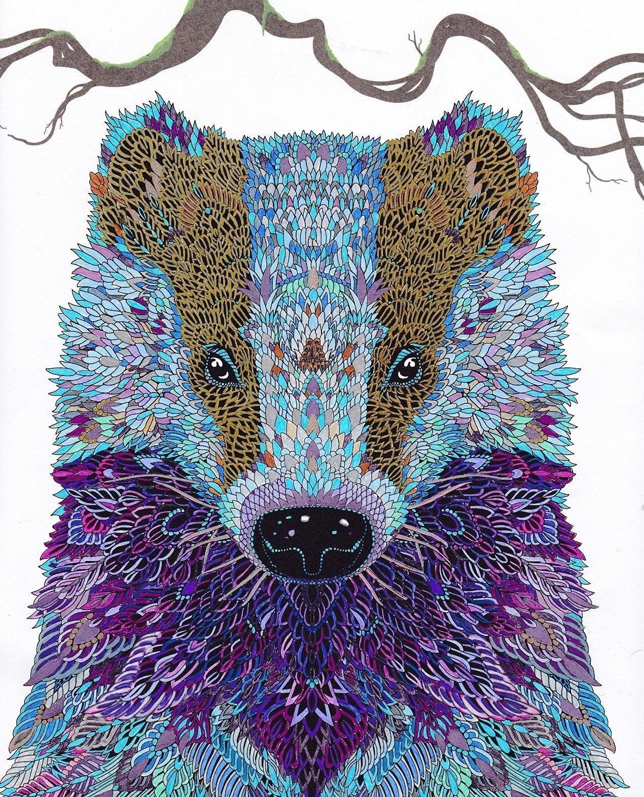 Amazon Com The Menagerie Animal Portraits To Color 9781438008509 Richard Animal Coloring Books Millie Marotta Coloring Book Pet Portraits